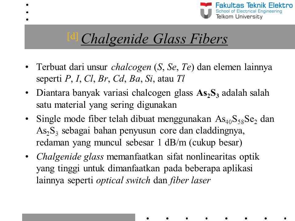 [d] Chalgenide Glass Fibers